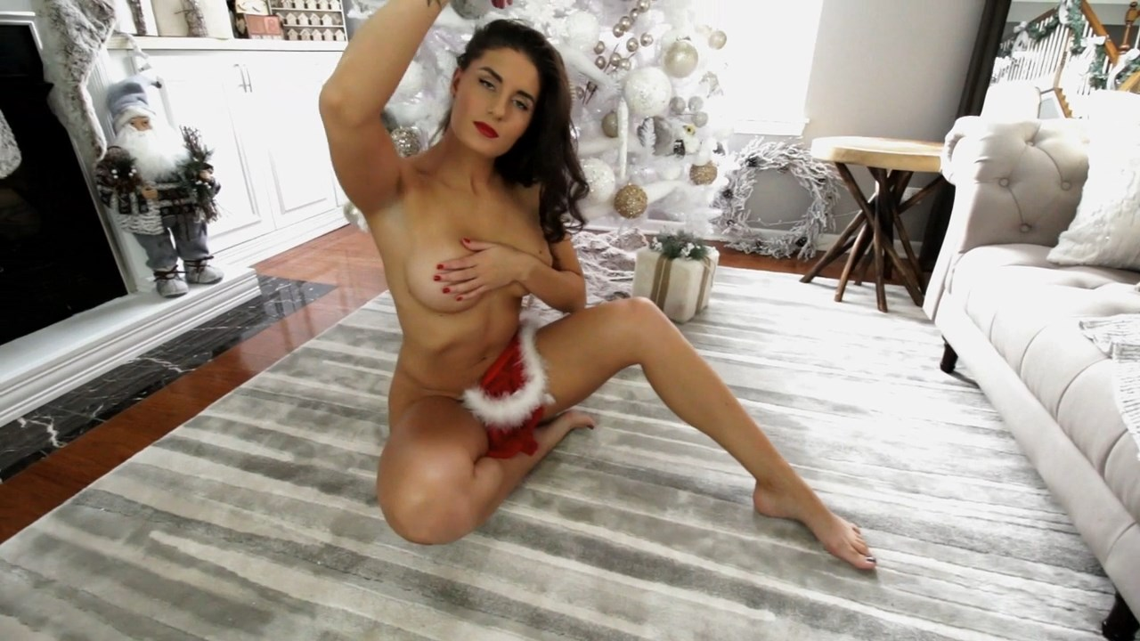 Florina Fitness Nude Santas Present 33